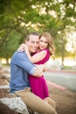 local couple engagement photography