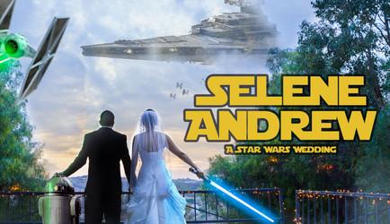 A Star Wars Wedding: Selene & Andrew