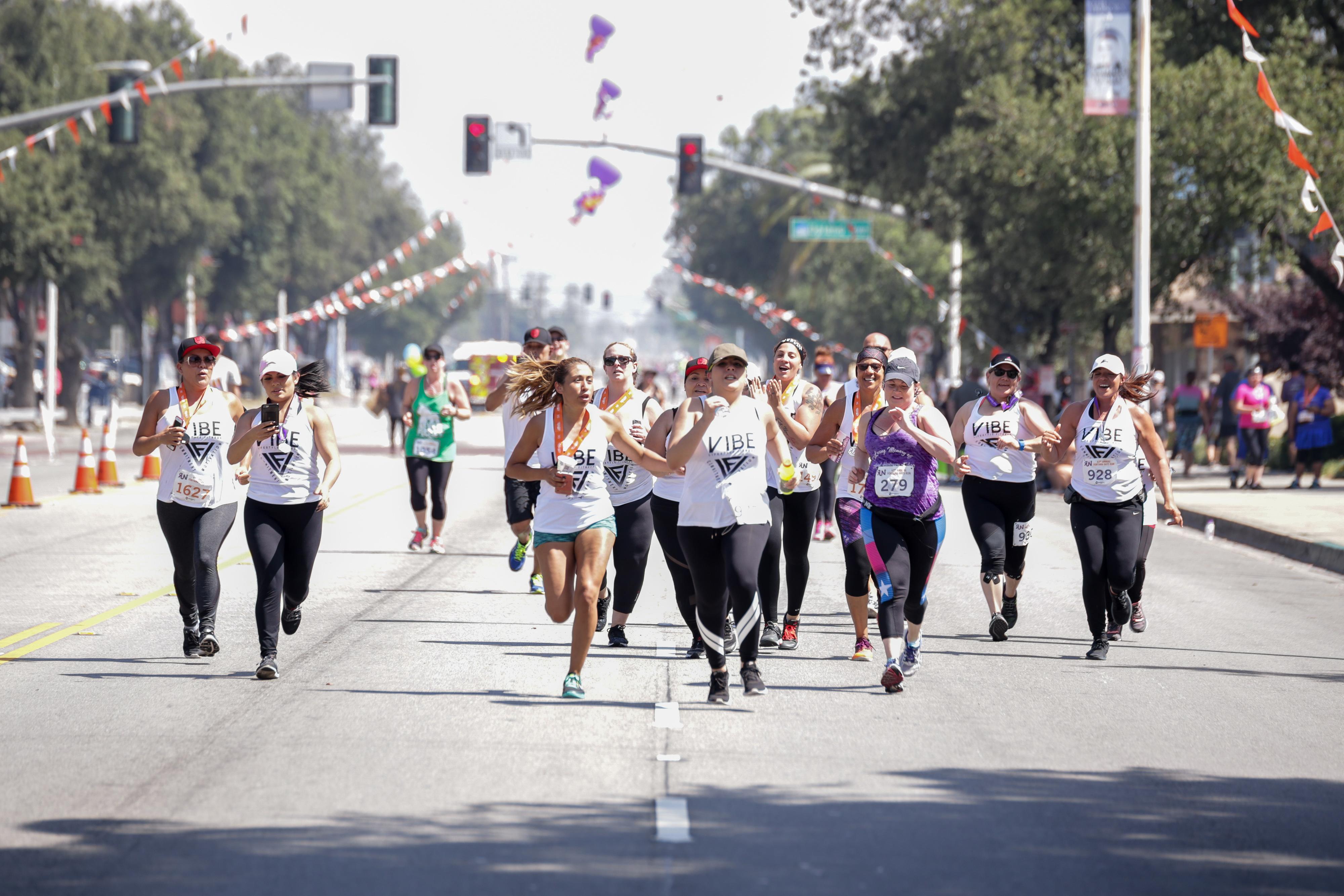 sports photography run 5k fontana