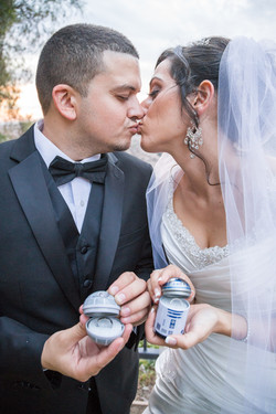 wedding photography star wars