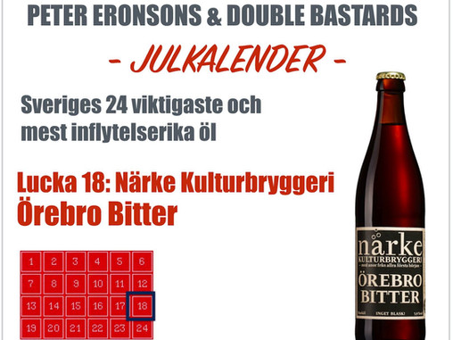 Peter Eronsons & Double Bastards julkalender - Lucka 18
