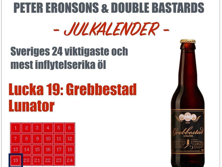 Peter Eronsons & Double Bastards julkalender - Lucka 19-24