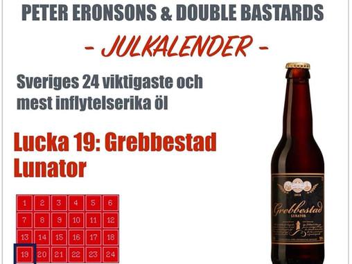 Peter Eronsons & Double Bastards julkalender - Lucka 19-24
