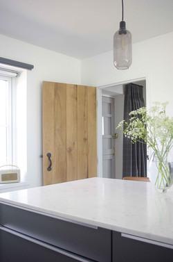 Kitchen-to-Hall