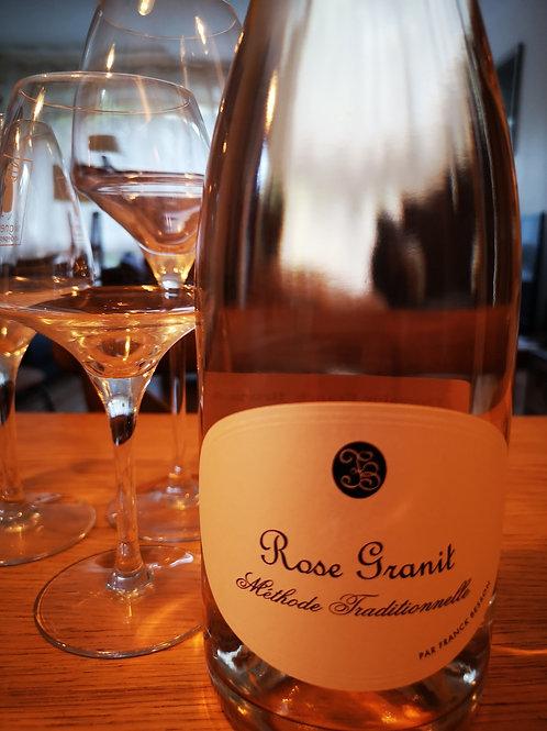 Rose Granit - méthode traditionnelle rosé - Franck Besson
