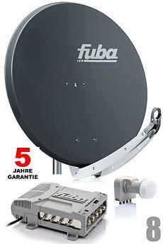 Fuba Sat-Anlage bei XMediasat
