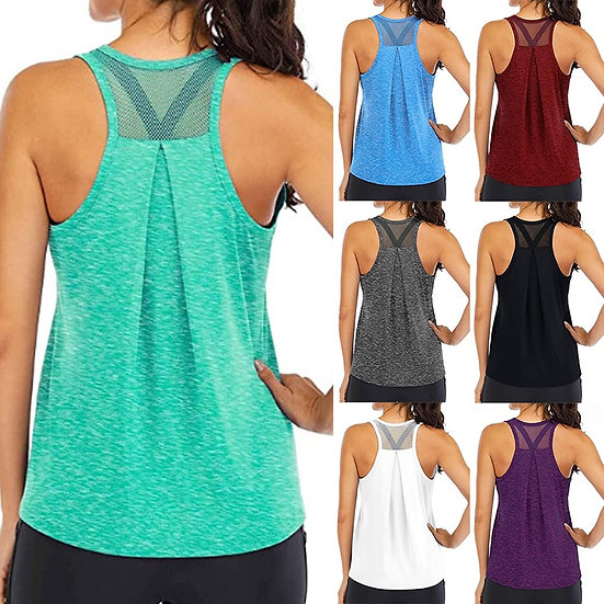 Women's Quick Dry Breathable Workout Tank Top