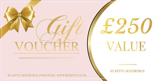 £250 Gift Voucher