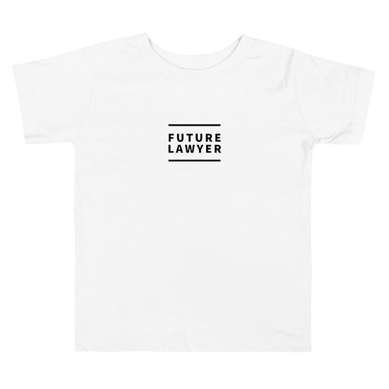 Future Lawyer Toddler Short Sleeve Tee