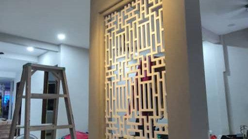 Indoor MDF Decorative Panel/Partition