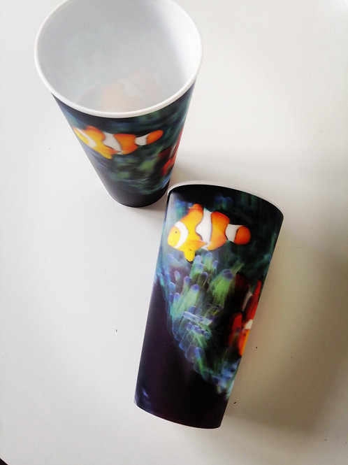 Super 3D Clownfish Drinking Cup