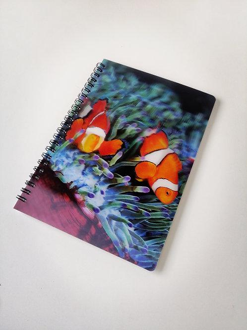Animal Planet Clownfish 3D Notebook A5