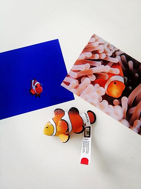 Animal Planet Mojo Clownfish Model