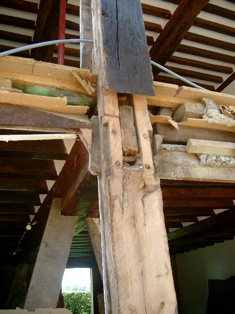 reprise poteaux facade