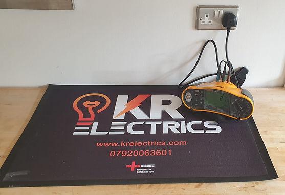 Electrical testing, EICR