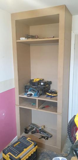 Building the wardrobe