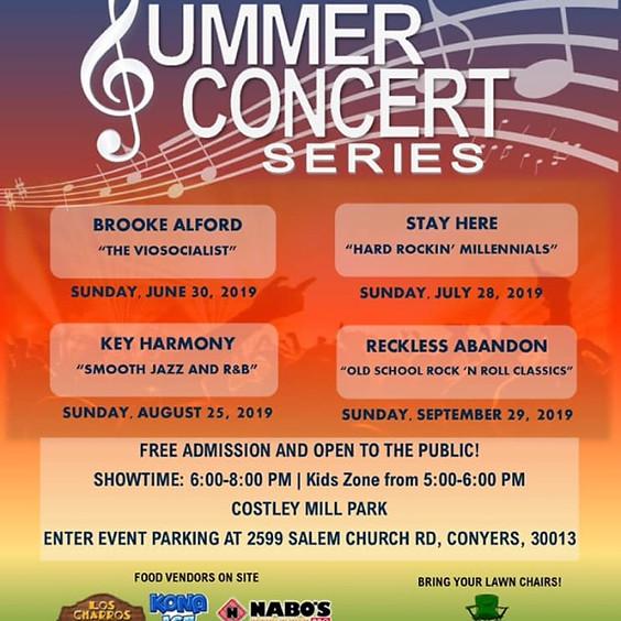 Rockin' Rockdale Summer Concert Series