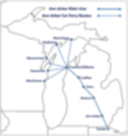 Ann Arbor Ferry Routes.png