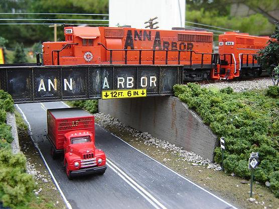 N Scale Ann Arbor GP35