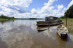 bigstock-Amazon-River-Boat-Pear-43343635