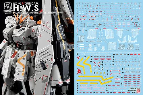 C44A RG / HG Nu Gundam HWS Alternate Design