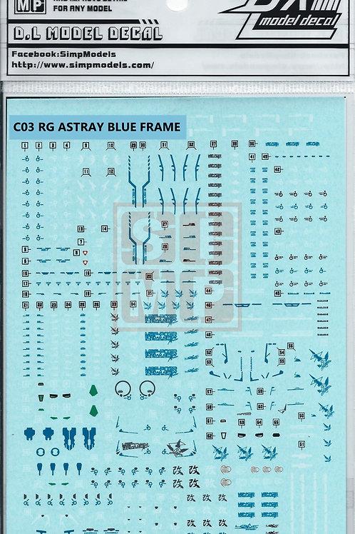 C03 RG 1/144 Astray Blue Frame