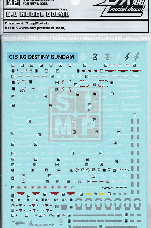 C15 RG 1/144 Destiny Gundam