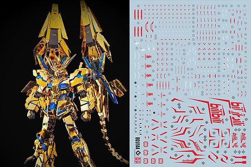 C42 RG Unicorn 01/02/03 Banshee Phenex Bilibili red