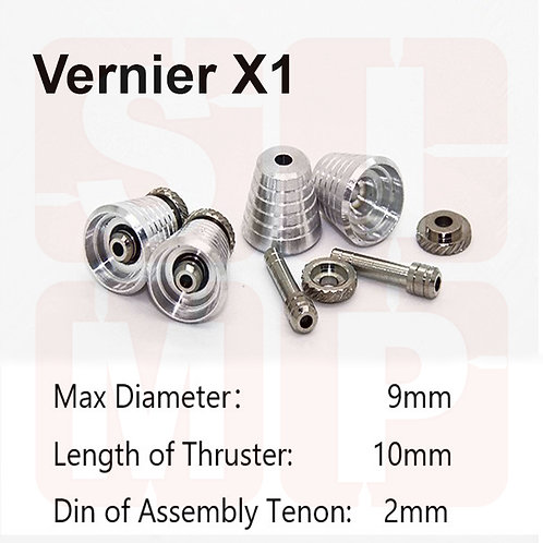 MDI-VSP-X1 Metal Vernier (2 way use) (2 sets)