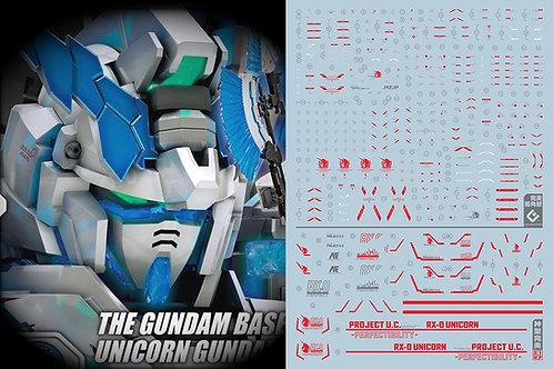 C50 RG / HG Unicorn Gundam Perfectibility (Red)