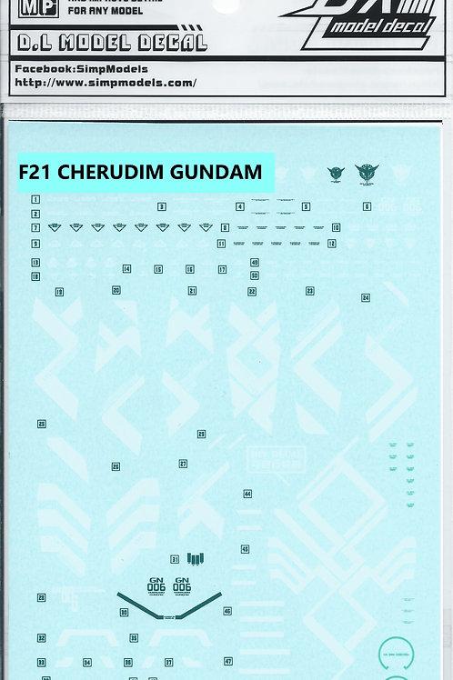 F21 1/100 CHERUDIM GUNDAM