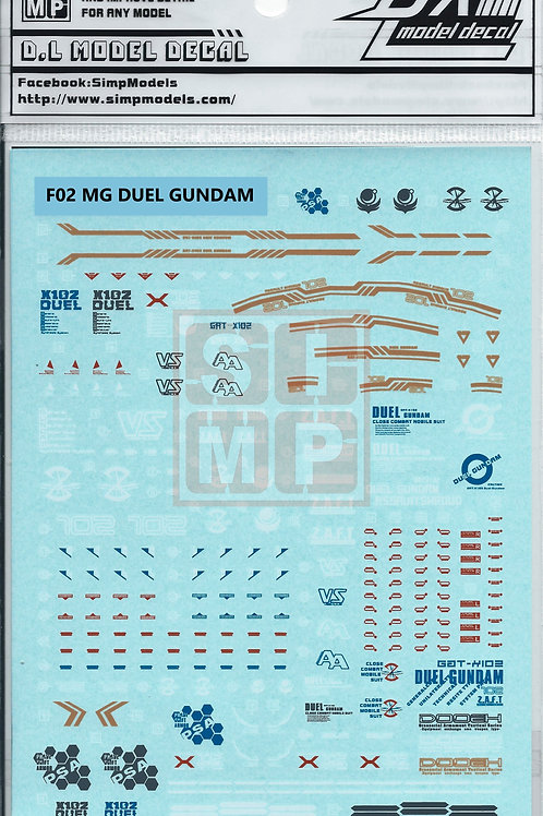 F02 MG 1/100 Seed Duel Gundam Assault Shroud