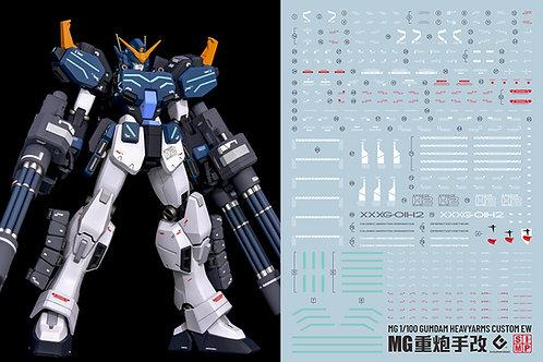 F40 MG 1/100 Gundam Heavy Arms Custom