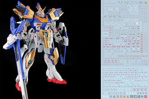 E44 MG 1/100 V2 / V2AB Victory Gundam (2PC)