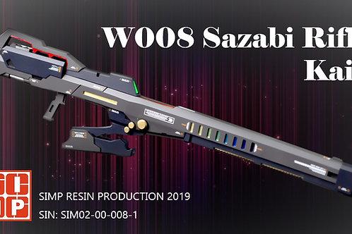 W008 Sazabi Long Rifle Kai 1/144