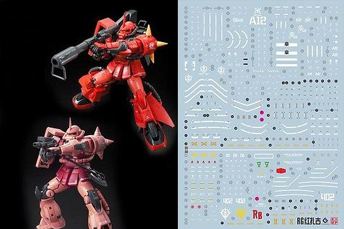 C10 RG HG 1/144 Zaku II (Char and Johnny Custom)