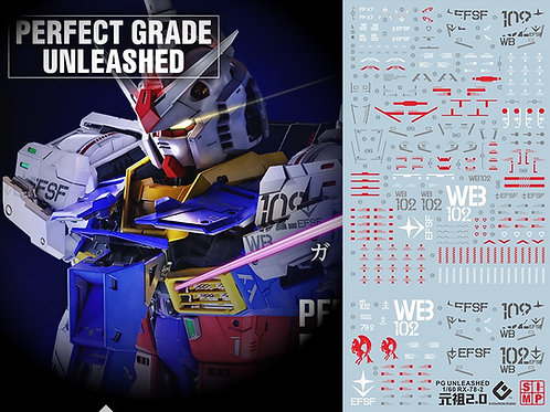 D16 PG Unleashed RX-78-2 Gundam 1/60