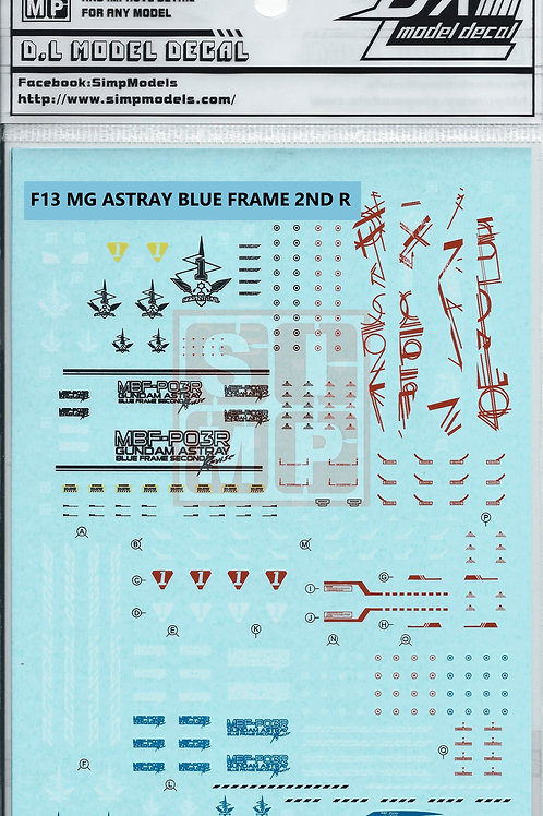 F13 MG 1/100 Seed Astray Gundam Blue Frame Second L