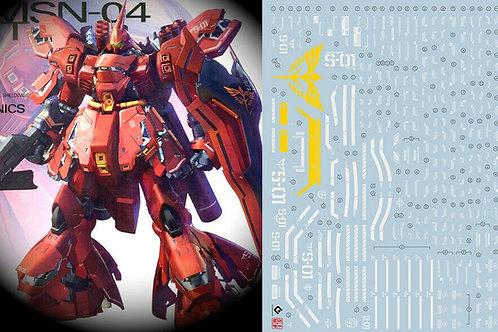 E03 MG 1/100 UC Sazabi Ver. Ka