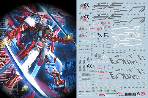 F03 MG 1/100 Seed Astray Gundam Red Frame