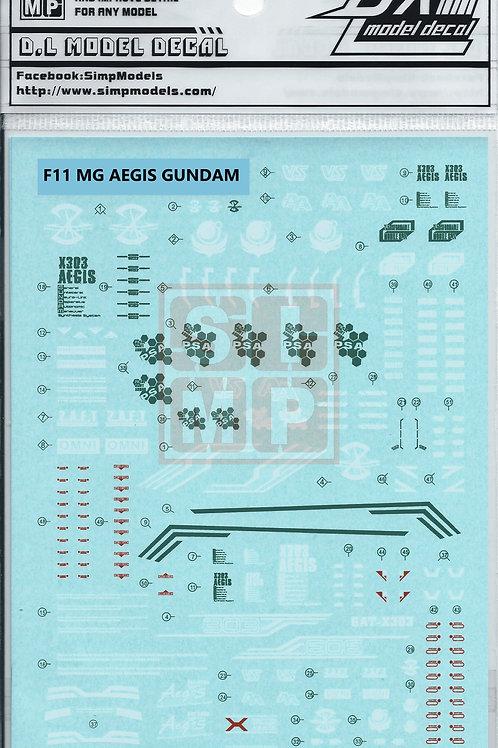 F11 MG 1/100 Seed Aegis Gundam