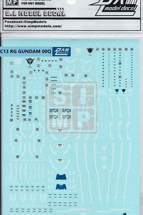 C13 RG 1/144 Gundam OO [Q]