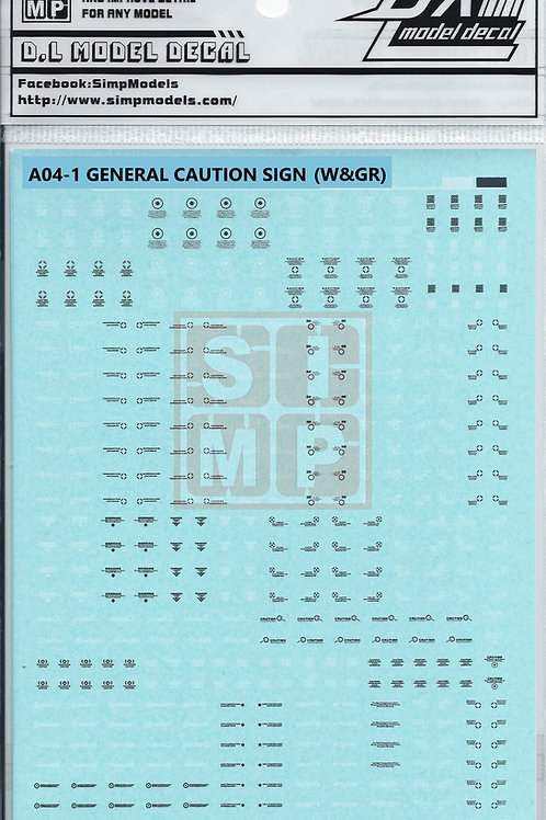 A04-1 General Design Warning Decal (1.100)