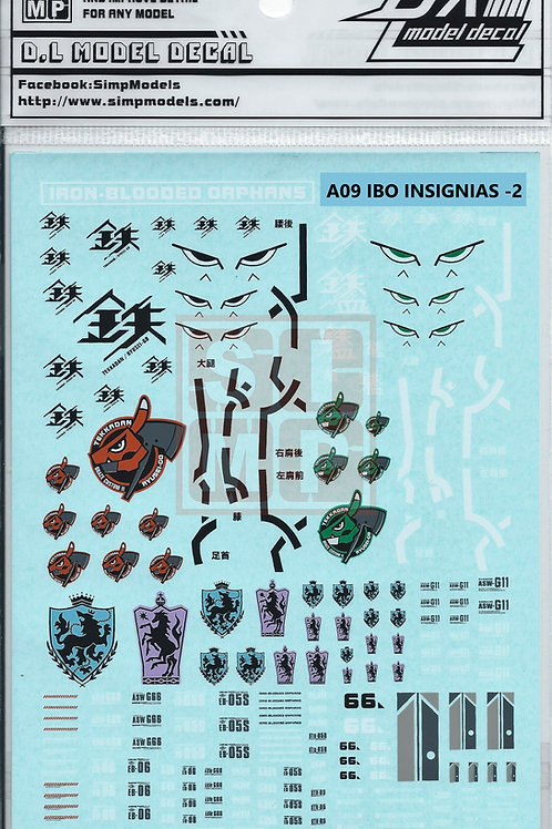 A09 General Design Water Decal Iron Blooded Orphan-2