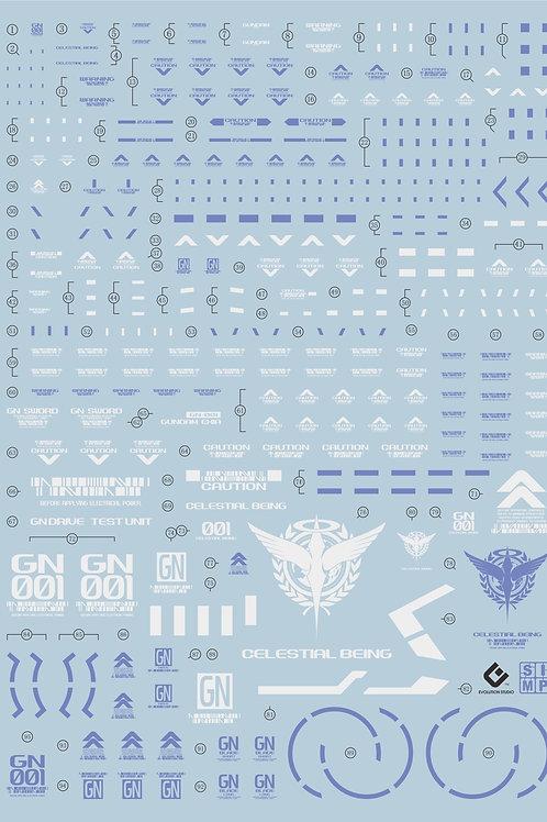D10 (2PCS) PG 1/60 Exia Gundam