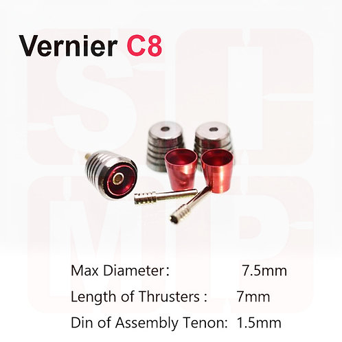 MDI-C8 Metal Vernier (2 sets)