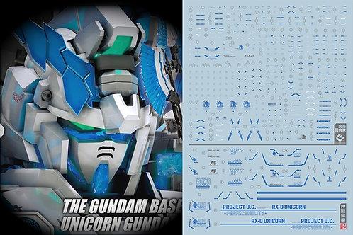 C51 RG / HG Unicorn Gundam Perfectibility (Blue)