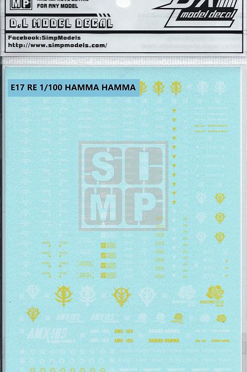 E17 RE 1/100 Hamma Hamma