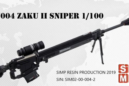 W004 Zaku II Sniper (GTO style)