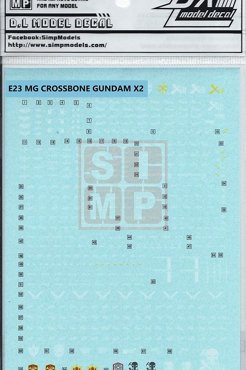 E23 MG 1/100 Crossbone X2